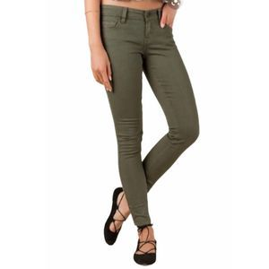 EXPRESS Olive Stella Jeans 8